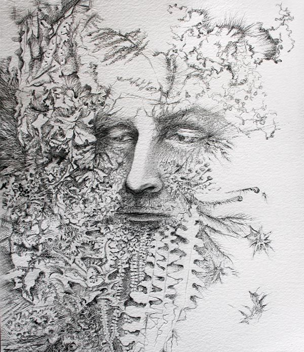 green man coloring pages - photo#30