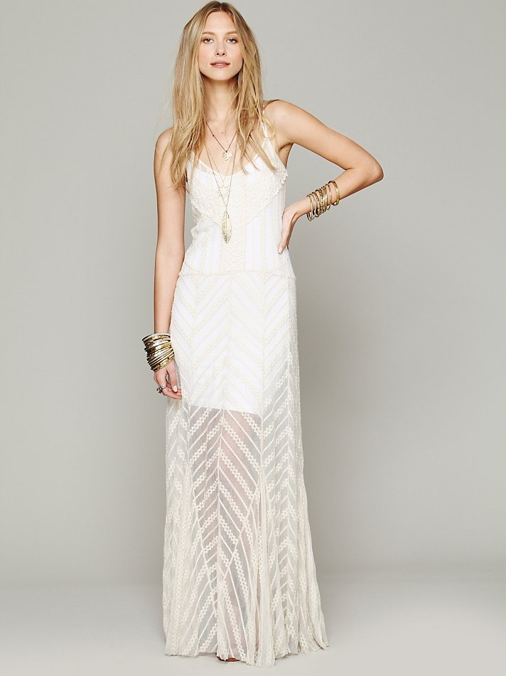 54 best free people intimates images on pinterest free for Maxi dress for wedding reception