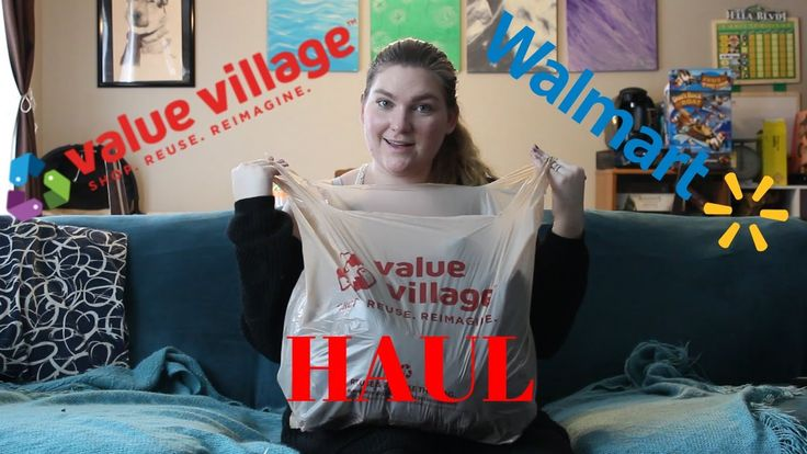 Value Village & Walmart | Haul
