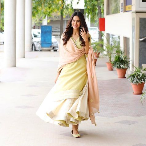 """58.5k Likes, 333 Comments - Sonam Bajwa (@sonambajwa) on Instagram: """"That's how you beat a hot day in this beautiful outfit ..yesterday for press conference in…"""""""
