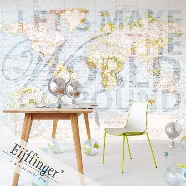 Marvelous Wall Mural The World Go Round (source Eijffinger) Fabric Wallpaper Australia  / The Ivory Tower Part 20