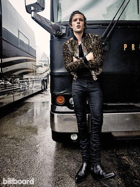 Brandon Flowers style for Billboard