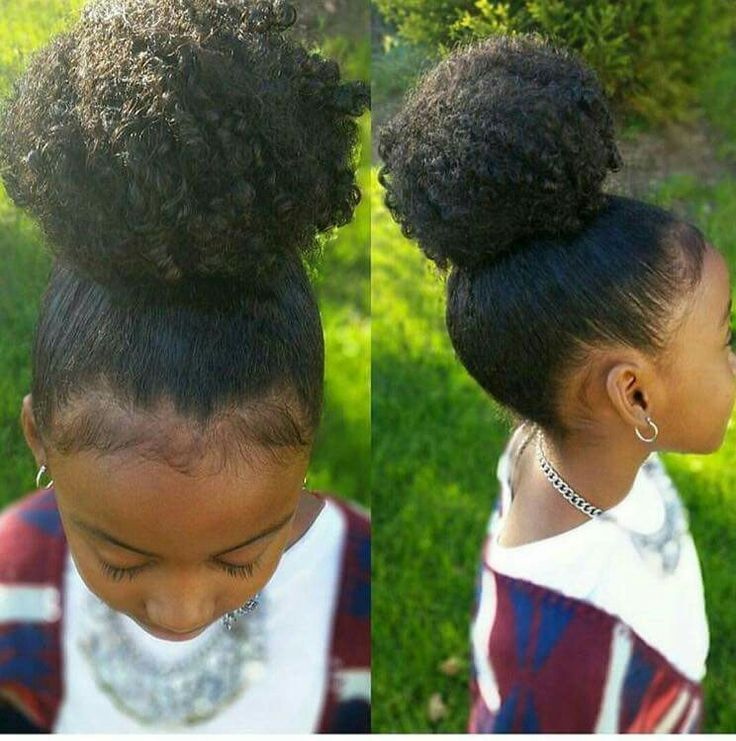 50 Trendy Updo Hairstyles For Black Kids Afrocosmopolitan Kids Hairstyles Natural Hair Styles Natural Hair Updo