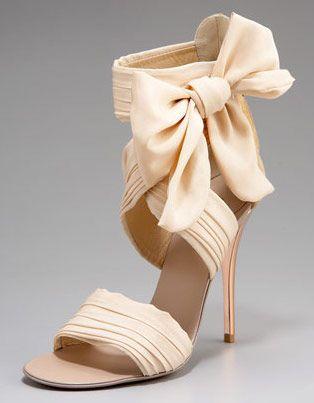 love love loveBow Sandals, Walks, Chiffon Bows Sandals, Giuseppe Zanotti, Wedding Shoes, Zanotti Chiffon Bows, Bridesmaid, Heels, Neiman Marcus