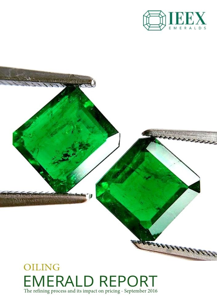 IEEX Emeralds - Emerald Oiling Report available to download at the IEEX wesbite - see link:   https://lnkd.in/dwTNDSY