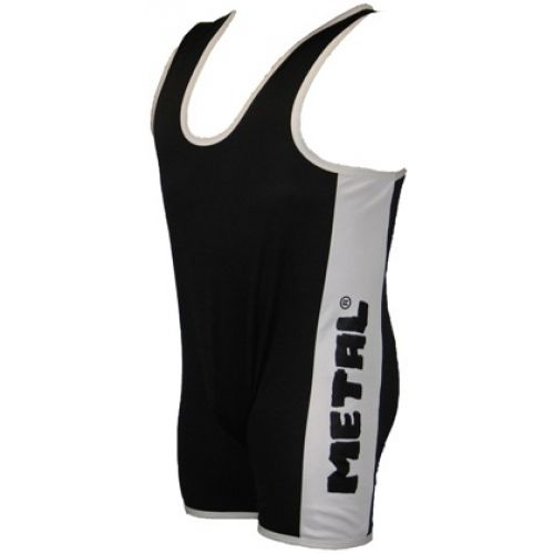 2 Color Singlet.  Metal black and white singlet #metal #singlet #powerliftingsinglet #powerlifting #crossfit