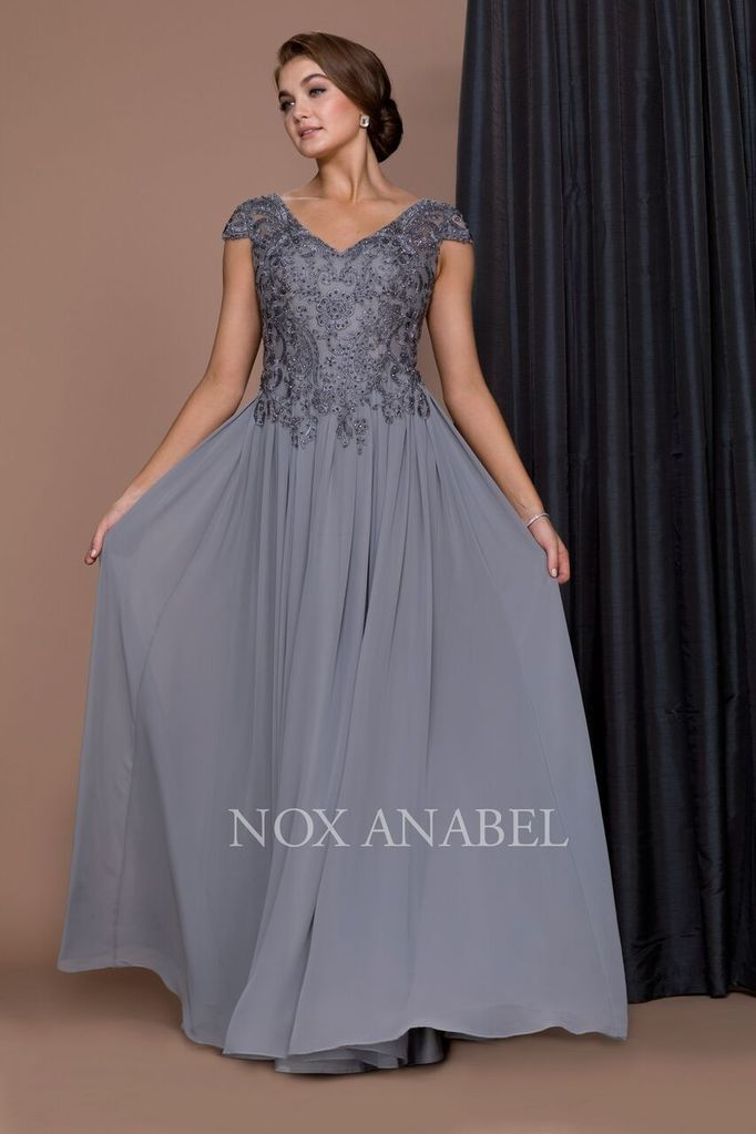 mother of the bride formal dress evening long gown abendkleid