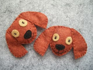 Art and Sew Forth: New Felt Dog and Cat Friends