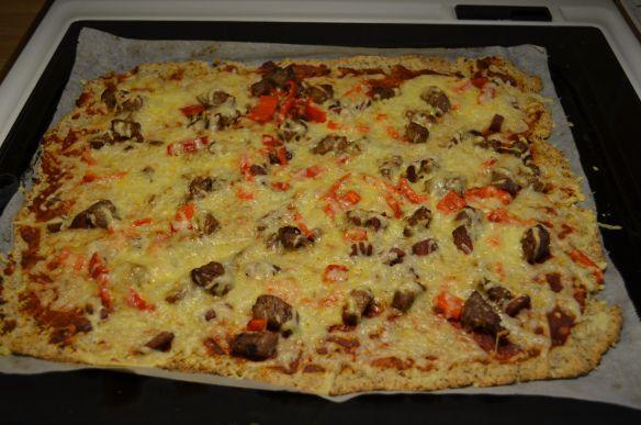 Pizzabunn med mandelmel