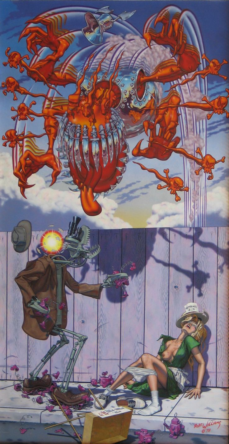 Appetite for Destruction - Robert Williams ,one of my fav pieces of art and the album that goes with it !