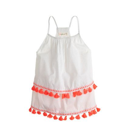 Girls' Tassel Tank / Additional 40% OFF