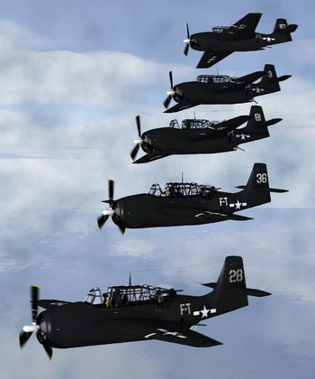 Flight 19 was the designation of five Grumman TBM Avenger torpedo bombers that disappeared over the Bermuda Triangle on December 5, 1945 after losing contact during a United States Navy overwater navigation training flight from Naval Air Station Fort Lauderdale, Florida. All 14 airmen on the flight were lost, as were all 13 crew members of a Martin PBM Mariner flying boat that subsequently launched from Naval Air Station Banana River to search for Flight 19.