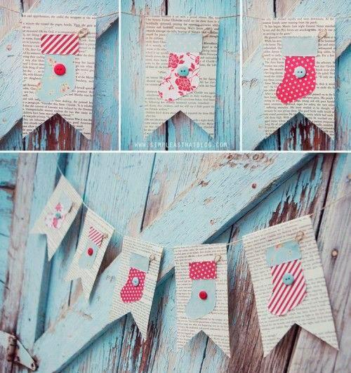 20 Guirnaldas de Navidad que puedes hacer para decorar | Aprender manualidades es facilisimo.com