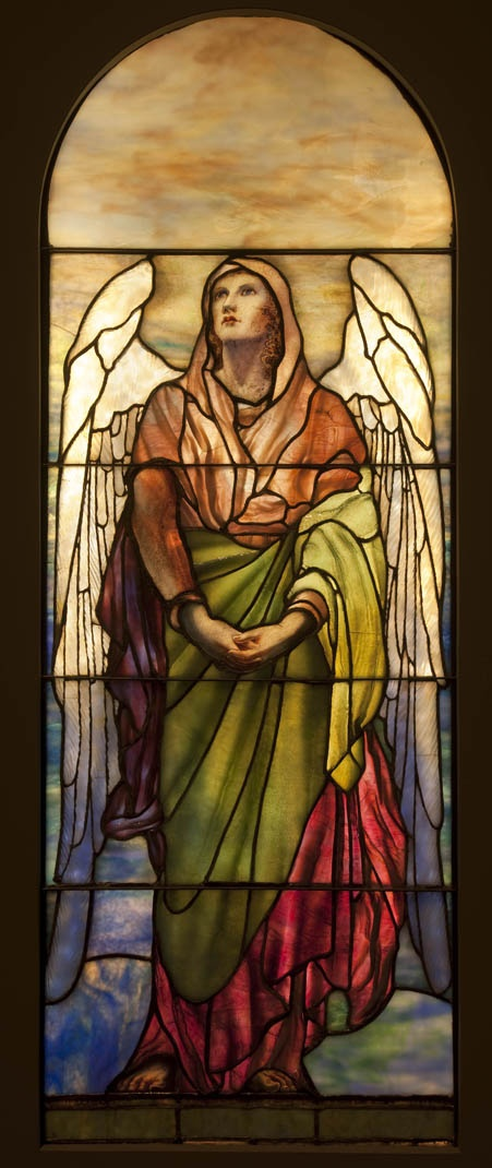 Louis Comfort Tiffany, Angel, 1902, Montreal Museum of Fine Arts