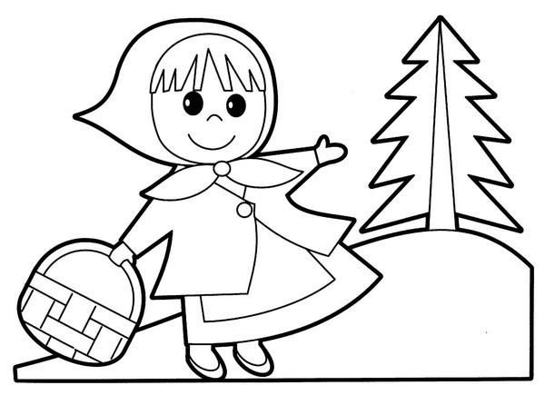Marchen Basteln Rotkappchen People Coloring Pages Free Coloring Pages Coloring Pages For Kids