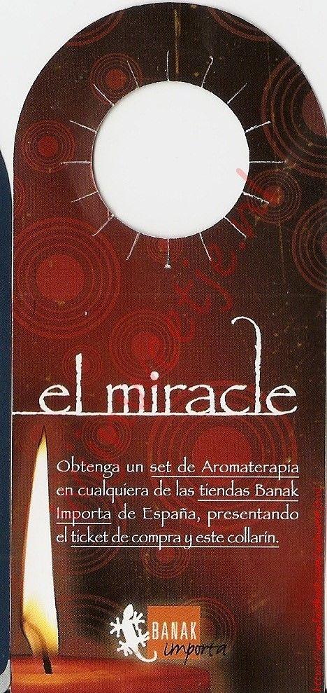 The miracle. Get a set of aromatherapy candles./Het wonder. Krijg een set van Aromatherapie kaarsen.