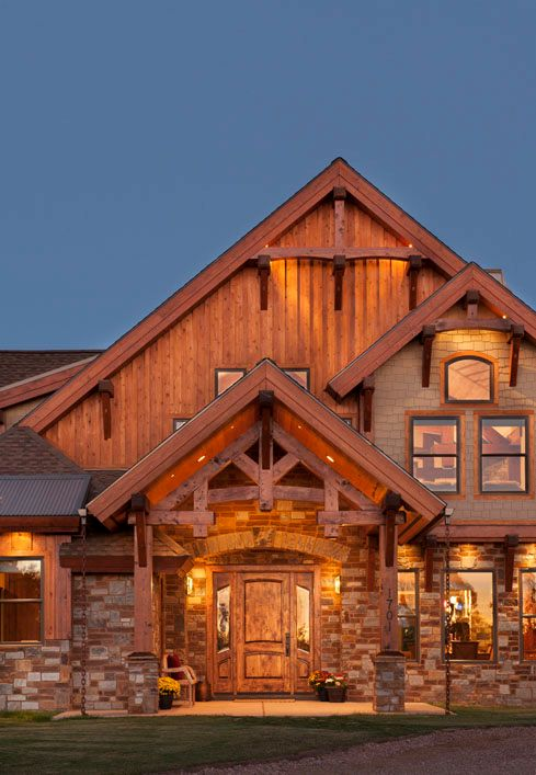 14 best timber frame beautiful exteriors images on for Beautiful a frame homes
