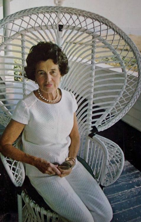 """Mrs~~Rose Elizabeth Fitzgerald Kennedy (July 22, 1890 – January 22, 1995) She was the wife of businessman and investor Joseph P. Kennedy, Sr., who was United States Ambassador to the Court of St James's. On October 7, 1914, Rose Kennedy Married Joseph Patrick """"Joe"""" Kennedy, Sr. The couple eventually had nine children Four Boys And Five Girls. Their nine children included President John F. Kennedy, Senator Robert F. Kennedy, and longtime Senator Ted Kennedy. ❃❤❁❤✾❤✾❤❁❤❃❤❁…"""