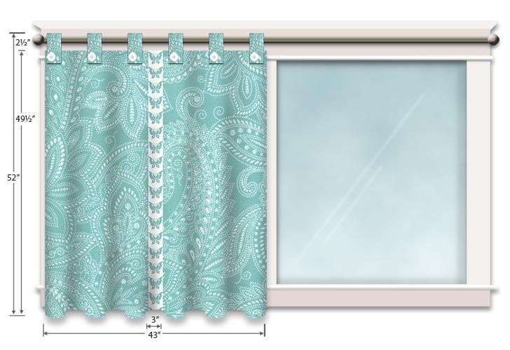 DIY Tab Top Curtains.  not much on the fabric selection but excellent step by step instructions.