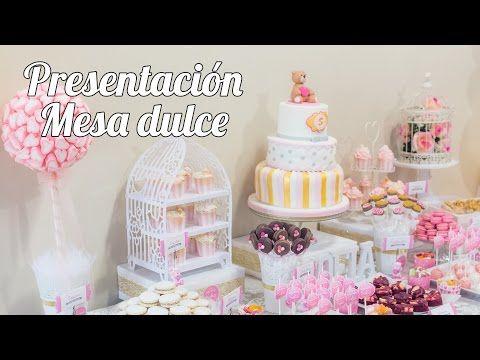 Presentación y planificación | #1 Mesa dulce para Baby Shower - YouTube