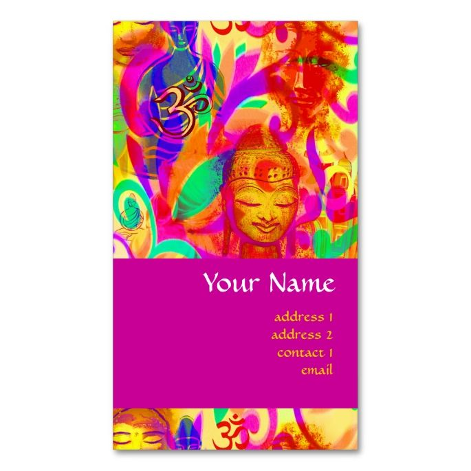 The 2156 best yoga business cards images on pinterest business colorful spiritual world yoga meditation teacher double sided standard business cards pack of 100 reheart Gallery