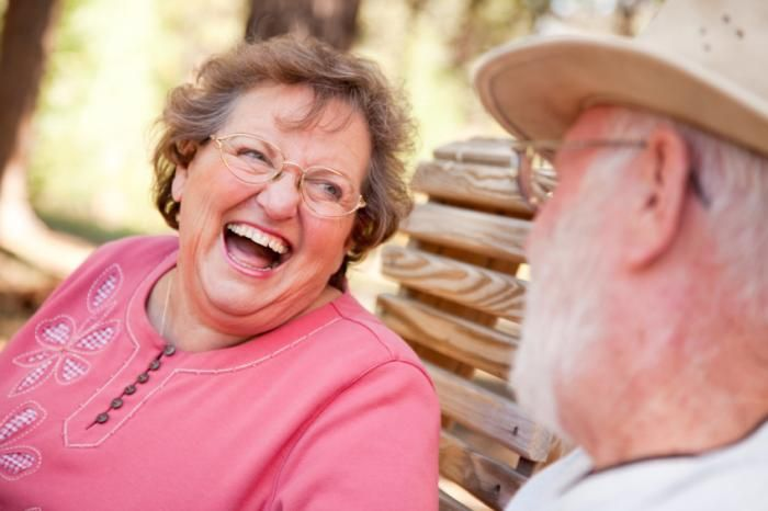 """Laughter may reduce neuron damage caused by """"stress hormone"""" cortisol, therefore improving memory in older individuals."""