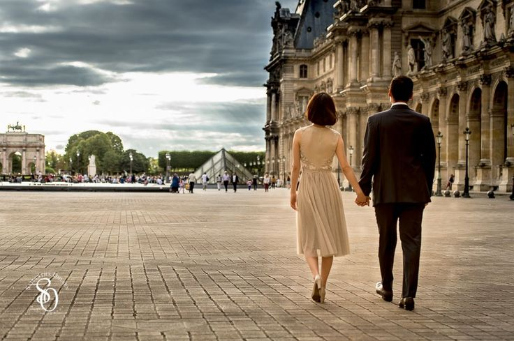 Paris is a dream destination for a #prewedding photo shoot. This couple was a part of #aeuropeanlovestory artistic project during the European Summer of 2015.