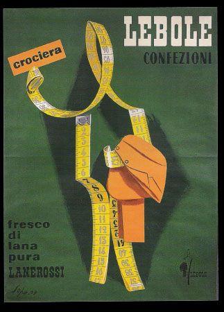 Vintage Italian Posters ~ #illustrator #Italian #posters ~ LEBOLE (SEPO 1959)
