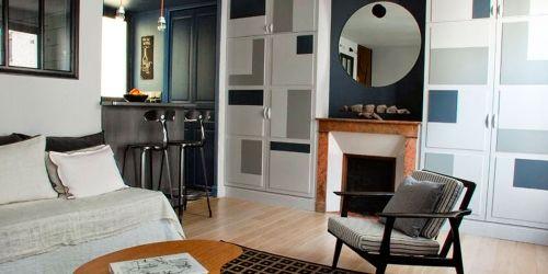 5 designlessen uit een Parijs' appartement van 30m2