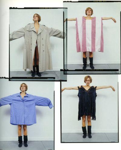 Chloë modeling the oversized collection, photo by Mark Borthwick