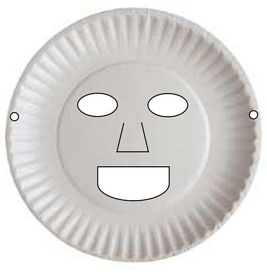 Paper Plate Masks – DIY kids craft