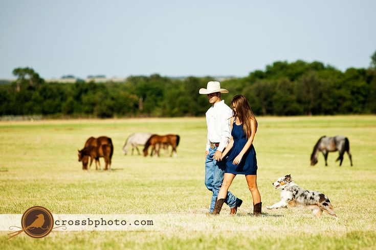country engagement-adorable!