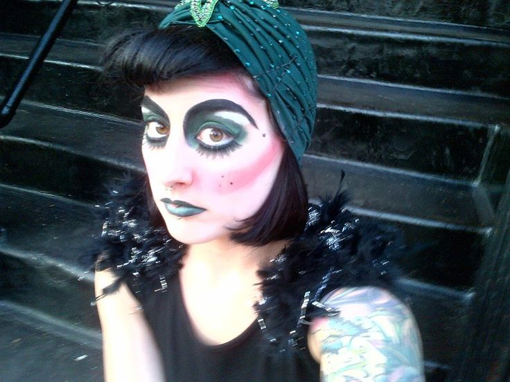 Gypsy makeup | Costume + Masks + Personas | Pinterest