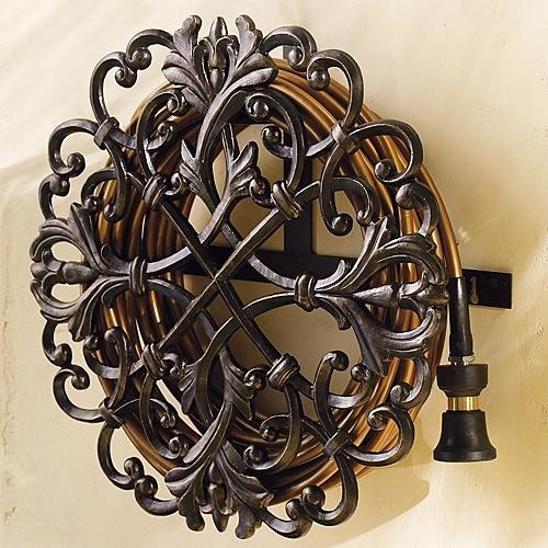Classic Wall Mount Hose Holder   Frontgate Traditional Irrigation Equipment