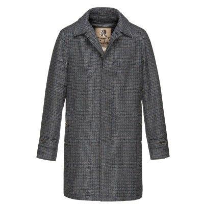 Milano Woolen Down Coat - Raincoat for men #sealupcollection. Shop it!
