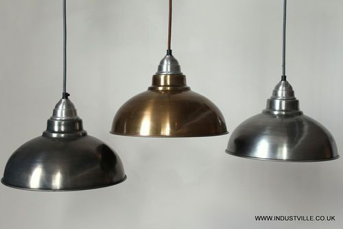 metal lampshade pendant restaurant light industrial metal other and. Black Bedroom Furniture Sets. Home Design Ideas
