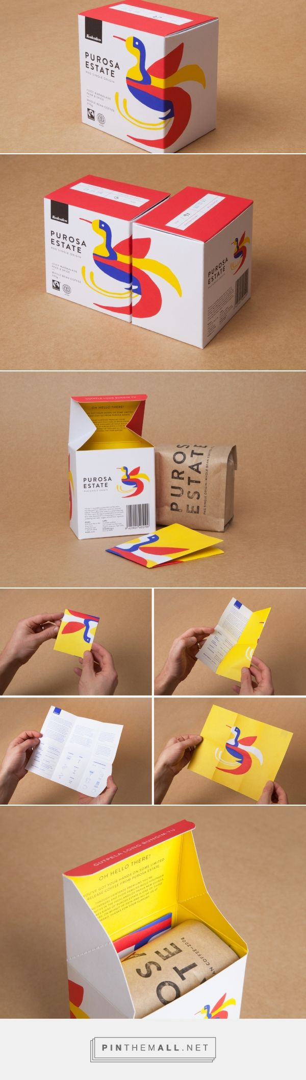 Kokako – Purosa Estate Single Origin — The Dieline - Branding & Packaging Design - created via https://pinthemall.net