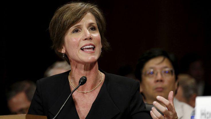 Sally Yates, la fiscal serena y fiel que se rebeló contra Trump