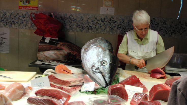 Vismarkt Barcelona
