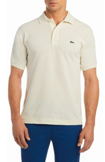219dcc782fec6 LACOSTE SLIM FIT PIQUE POLO.  lacoste  cloth