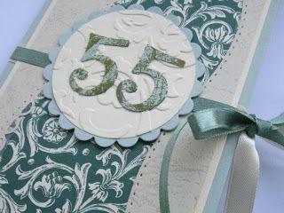 55th Anniversary Card Ideas
