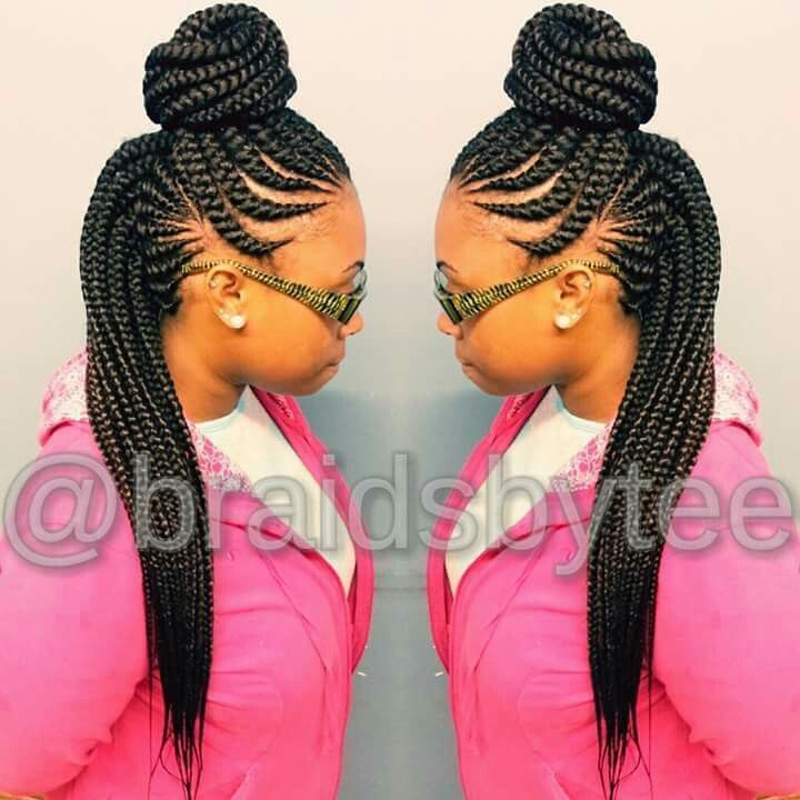 281 best Ghana Braids images on Pinterest | African braids, African hairstyles and Braid styles
