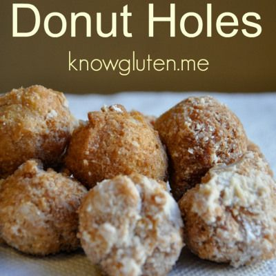 Gluten free donuts, Donut holes and Donuts on Pinterest