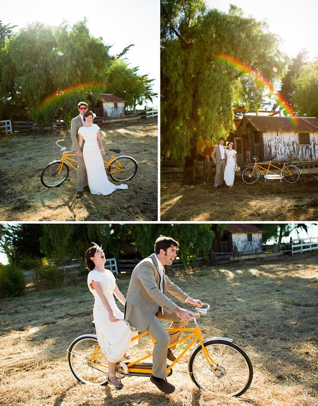 Mummy's Little Dreams: Bicycle Themed Wedding
