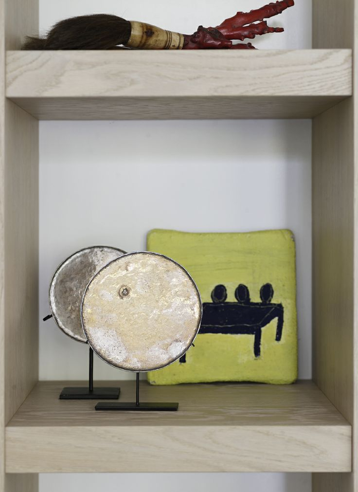Piet Boon Styling by Karin Meyn | Delicate golden art combined with lovely yellow