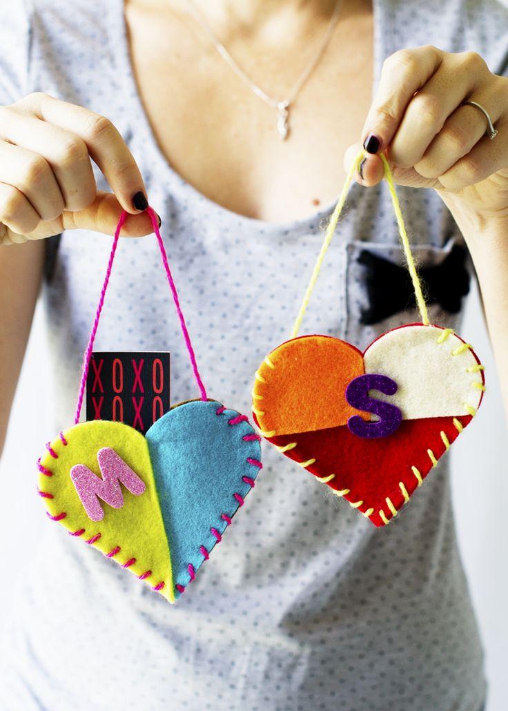 DIY Valentine's Message Door Pocket | hellohappystudio.com