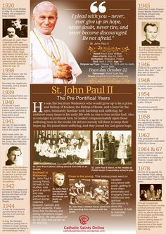 St. John Paul II, pray for us! #Catholic #saintoftheday #prayforus #pray #StJohnPaulII #yearofmercy