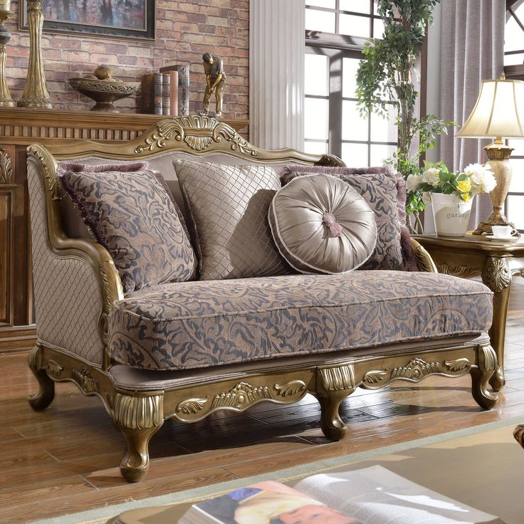 Meridian Furniture Inc Palmas Loveseat with Accent Pillows - 606-L