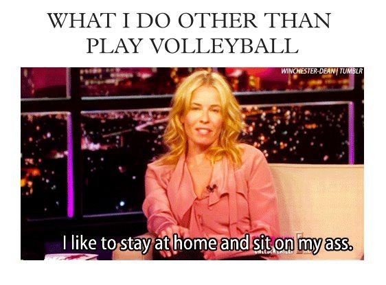 Volleyball Memes Volleyball Pinterest Seasons