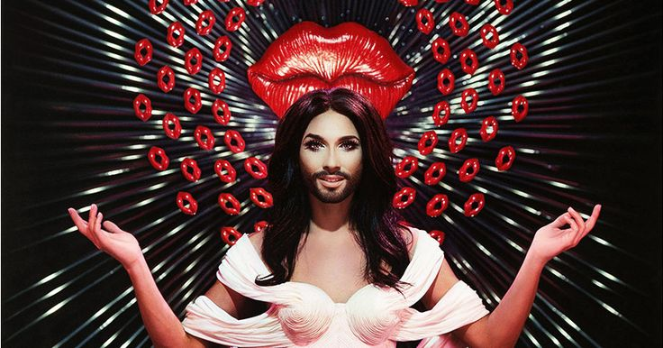 Conchita Wurst, the beauty with a beard and winner of the 2014 Eurovision Song Contest, will be appearing at the Crazy Horse for exclusive performances.